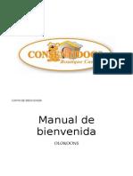 Manual de BienvenidaCONSENTIDOGS
