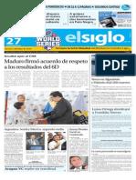 Edicion Impresa El Siglo 27-10-2015