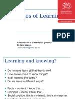 140206 Theories of Learning En