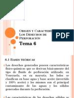 Origen y Características Desechos