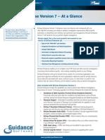 EnCase-Enterprise Version7 at a Glance-Onesheet-WebReady