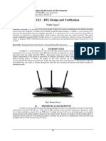 Router 1X3 – RTL Design and Verification