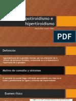 12. Bocio, Hipotiroidismo e Hipertiroidismo