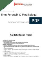 Ilmu Forensik & Medikolegal