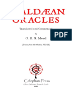 Mead - Chaldean Oracles