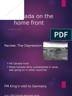 wwii the war on the canadian homefront