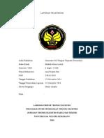 Laporan Generator DC Penguat Terpisah (Tersendiri) ANA