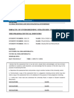 Impacts of Evergreening Strategies of Patents on the Pharmaceutical Industry