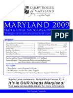MD Resident Tax Booklet 2009