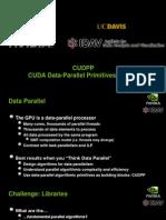 CUDPP Slides