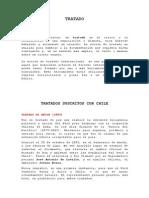 Tratados Suscritos Con Chile