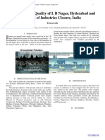 Ground Water Quality of L B Nagar, Hyderabad and Impact of Industries Closure, India