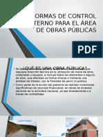 Normas de Control Interno en obras públicas