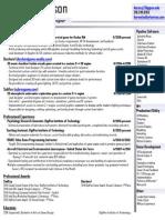 aaronjohnson resume