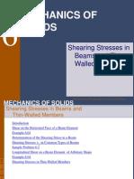 6 Shearing Stresses1
