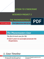 The Cyber Crime Hall of Fame - The Phone Masters Case, By Asad Syed