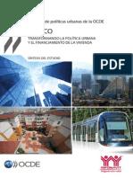 Sintesis Del Estudio Mexico OCDE VIVIENDA