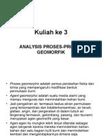 Kuliah Ke 3 Dan 4.Analisis Geomorfik