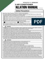 RXS09_12DAVJU Installation Manual