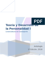 Antología.teoria y Desarrollo de La Personalidad i