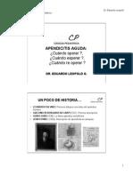 01 - Apendicitis Aguda