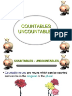 Countables & Uncountables Powerpoint Presentation