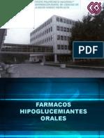 HIPOGLUCEMIANTES ORALES 1
