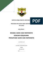 Kertas Kerja Panitia Math PT3 2014