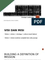 Building a Strategic Vision