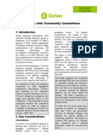 Working With Community Committees - Final Aug 09