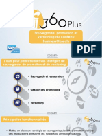 360Plus sauvegarde, corbeille, versioning et promotion pour SAP BusinessObjects