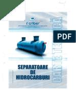 Separator Hidrocarburi 15 Ls EC