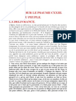 Saint Augustin - Discours sur les psaumes - Ps 123 La Délivrance