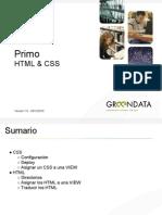 Primo. HTML & Css