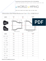Dimensions and Dimensional Tolerances of Concentric and Eccentric Reducers, NPS 1_2 - NPS 48, ASME B16