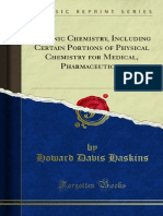 Organic Chemistry Including Certain Portions of Physical Chemistry 1000148819