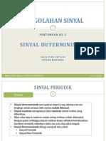 2 - Sinyal Deterministik