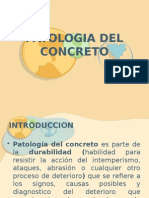 Patologia Del Concreto