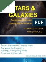 Stars & Galaxies