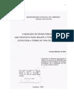 O mercado da dívida publica_uma proposta para induzir aformação da estrutura a termo da taxa de juros