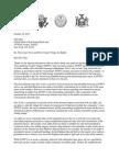 Letter from Comp. Scott Stringer, Rep. Carolyn Maloney, Sen. Brady Hoylman and Assemblyman Brian Kavanagh regarding Stuy-Town air rights
