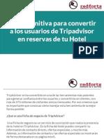 Guía definitiva para convertir a los usuarios de Tripadvisor en reservas de tu Hotel