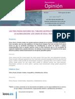 Tablero geopolítico en la globalización, por José C. Torrestva