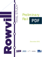 Rowville Rail Study Preliminary Rail Design Report FINAL
