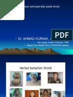 Pengelolaan Perioperatip Pada Tiroid