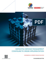 Demantra Demand Management Configure to Order Implementation