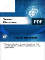 Sexual Disorders Lecture