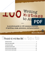 100 Writing Mistakes