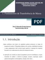 Capítulo 1 - Fundamentos de Transferência de Massa - Eduardo Baston