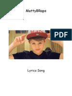 MattyBRaps - Lyrics Song